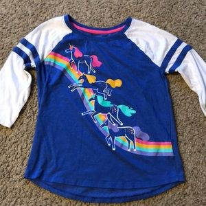 Girls unicorn shirt